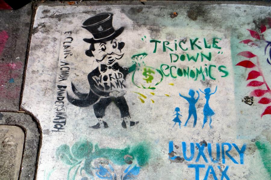 Ekonomija kapanja: Divisadero, San Francisco, 2012. godine (izvor: torbakhopper prema Creative Commons licenci).