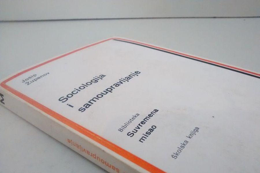 """Fotografija knjige """"Sociologija i samoupravljanje"""" preuzeta je sa stranice kupindo.com."""