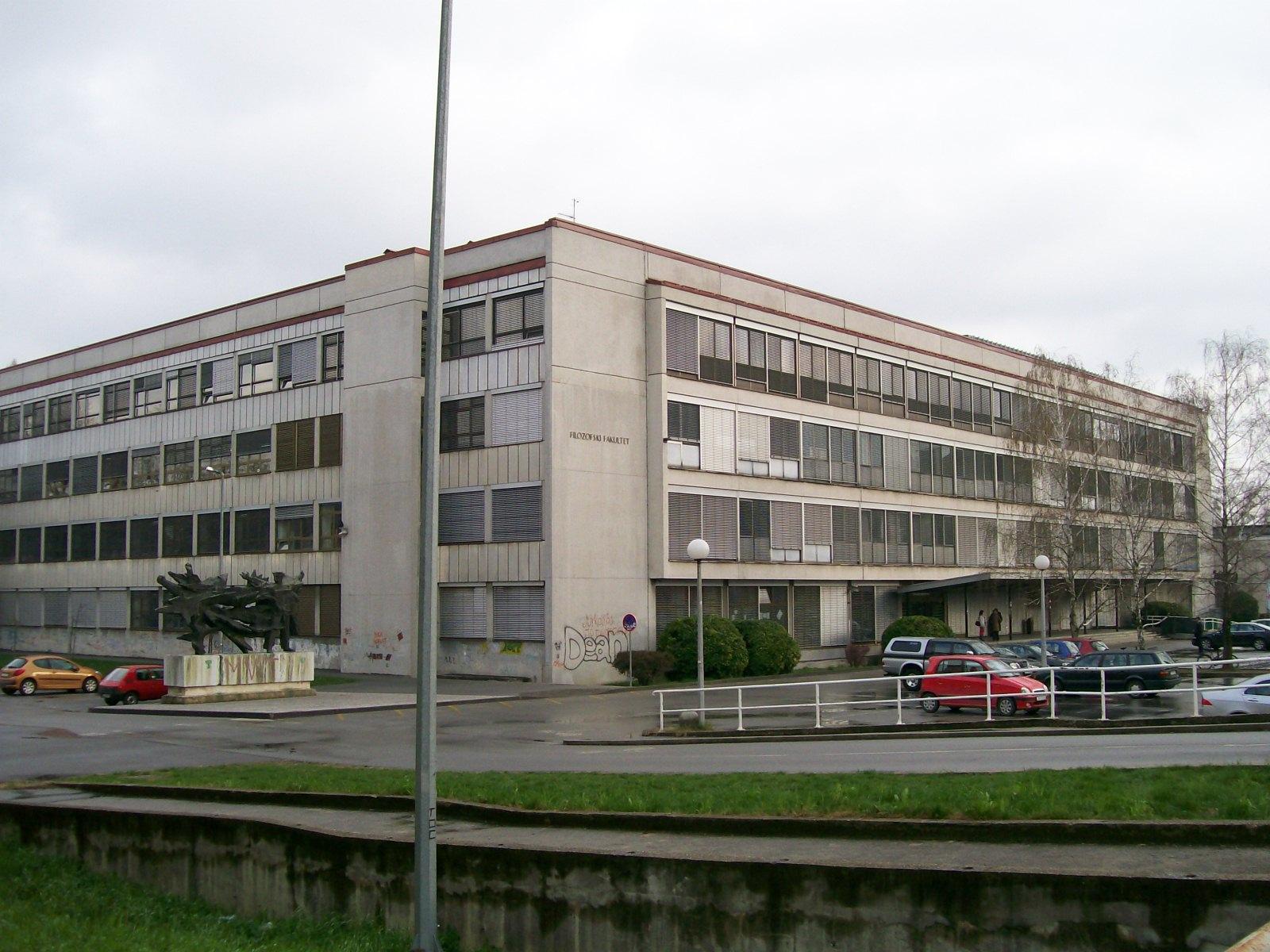 Filozofski fakultet u Zagrebu (Izvor: commons.wikimedia.org)
