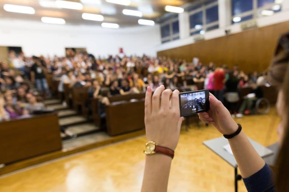 204. plenum Filozofskog fakulteta (izvor: Facebook stranica plenuma Filozofskog fakulteta)