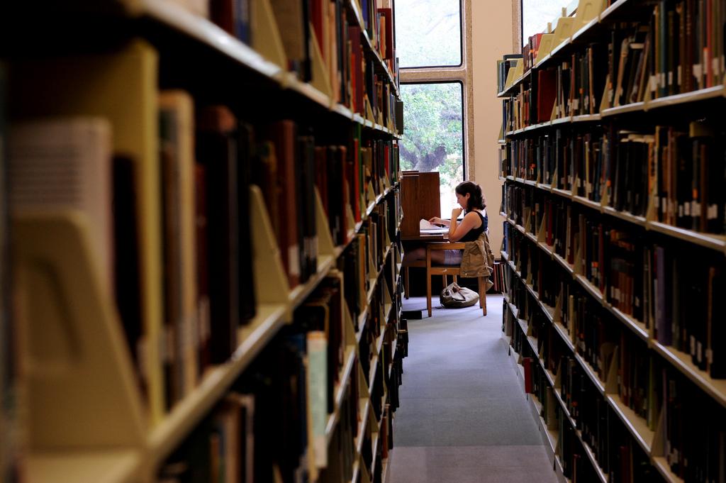 """""""Studiranje s pogledom"""" (izvor: Tulane Public Relations prema Creative Commons licenci)."""
