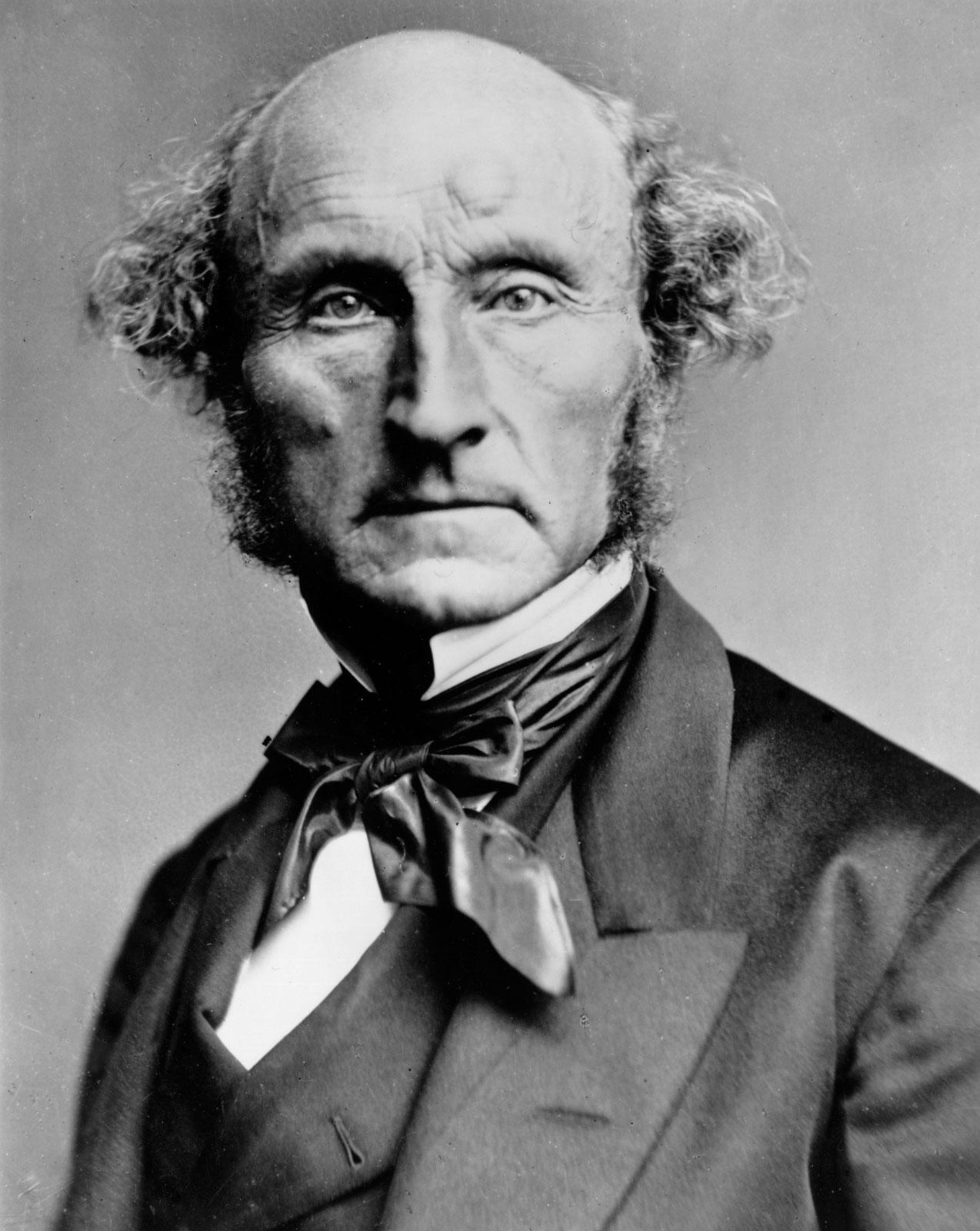 John Stuart Mill, oko 1870. godine (izvor: commons.wikimedia.org).