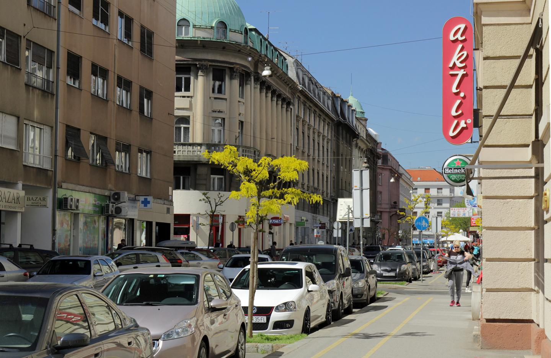 Martićeva ulica u Zagrebu (foto: KD).