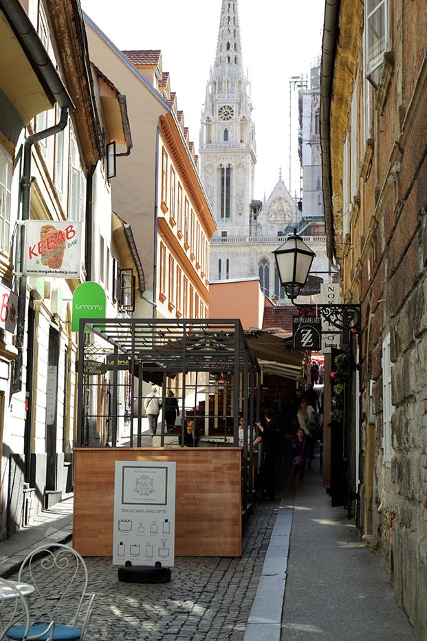 Skalinska, ulica koja gotovo i nema javnog prostora (foto: KD).