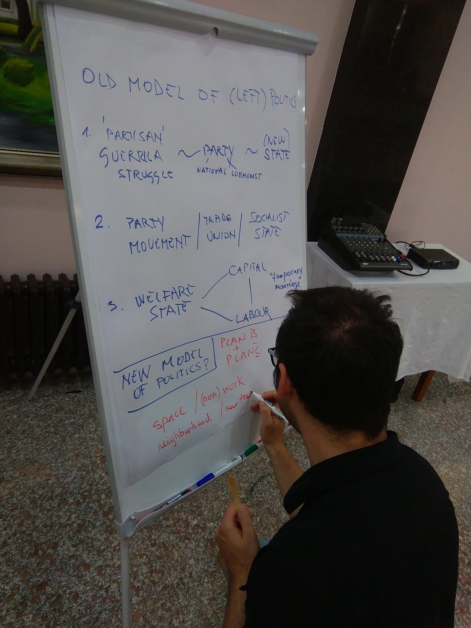 Stari model (lijeve) politike i promišljanje novog modela (foto: LM).