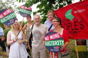 Jeremy Corbyn na Tolpuddle Festivalu 2014. (Izvor: Haydn@Flickr )