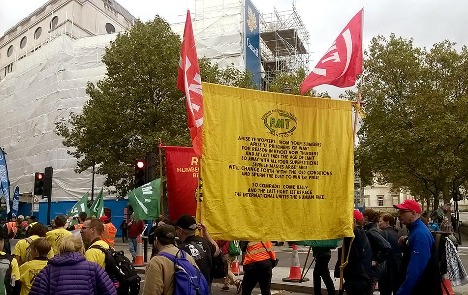 "Prosvjed ""Britain Needs a Pay Rise"" u Londonu 18. 10. 2014. godine. Foto: MB."
