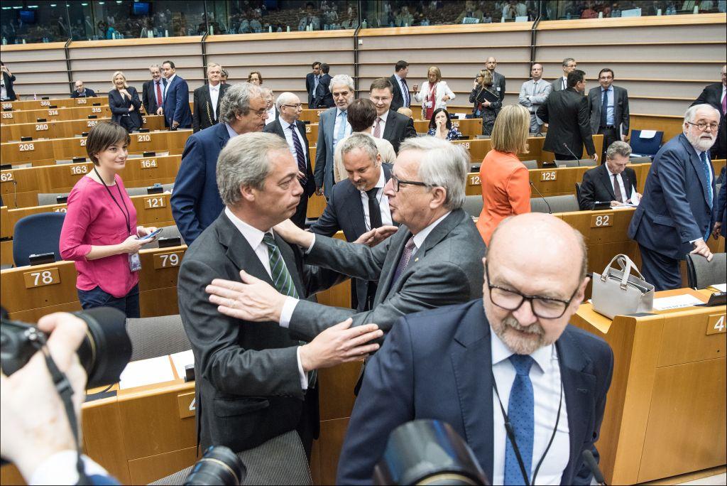 """""""Žustra rasprava o Brexitu i njegovim posljedicama"""" (izvor: European Parliament prema Creative Commons licenci)."""