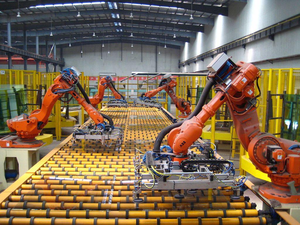 Robotizacija moderne industrije (izvor: ICAPlants prema Creative Commons licenci).