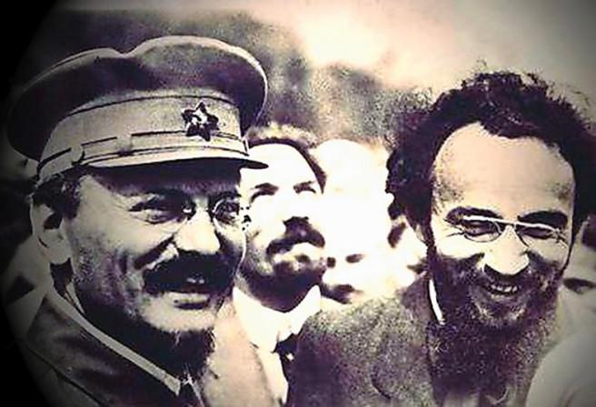 Moskva, srpanj 1920: Trocki, Rikov i Jules Humbert-Droz, Drugi kongres Kominterne
