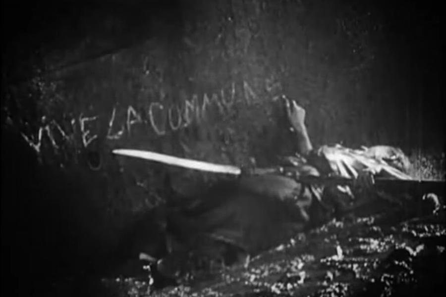"""Vive la Commune"", kadar iz filma ""Novi Babilon"" (Novyy Vavilon), 1929, r: Grigori Kozintsev & Leonid Trauberg (izvor: Faces of Classical Music – 1)"
