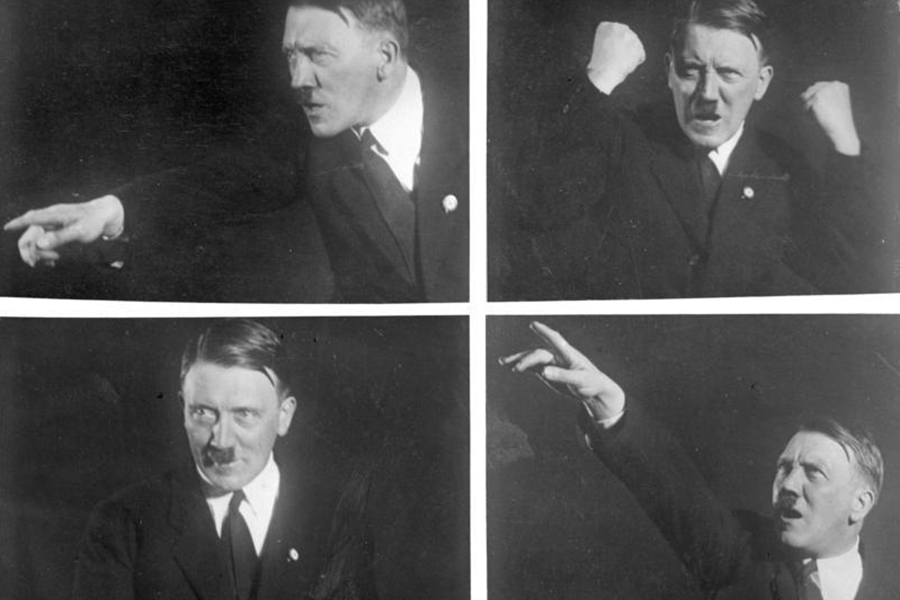 Adolf Hitler tijekom svjedočenja na Vrhovnom sudu u Leipzigu, 1930. godine (foto: Heinrich Hoffmann, izvor: en.wikipedia.org)